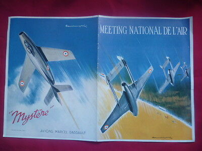 MEETING NATIONAL DE L'AIR & AVIONS MARCEL DASSAULT-ILLUSTRATIONS Paul LENGELLE-