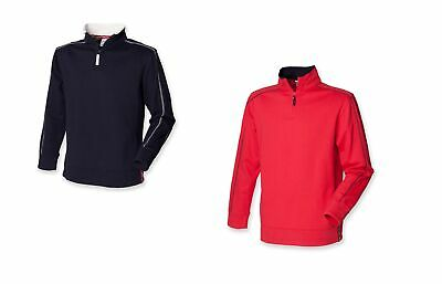 Karrimor Mens Surge Half Zip Top Quarter Fleece Sweatshirt Jumper Funnel Neck