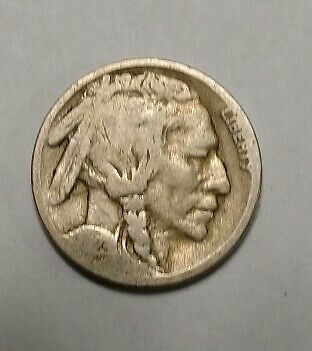 "1923 United States ""Buffalo/Indian Nickle"""