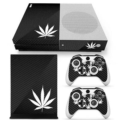 XBox One S Console Skin Sticker Protector New Hemp + 2 Controllers