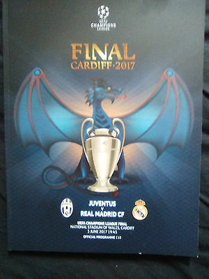 2017 Uefa Champions League Final Programme Official