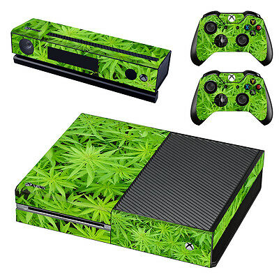 XBox One Console Skin Sticker Protector New Hemp + 2 Controllers