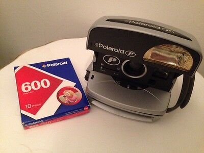 Polaroid P 600 Camera & Film (Tested and Working)