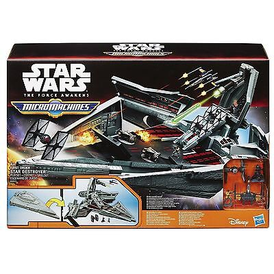 Star Wars The Force Awakens Ep.VII Micro Machines First Order Star Destroyer Set
