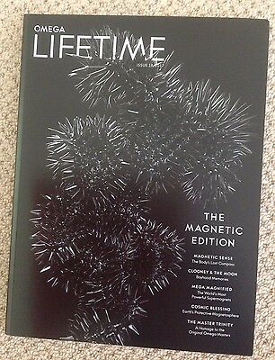 Omega Watch LIFETIME Magazine Issue 18 'The Magnetic Edition'  2017 NEW Issue