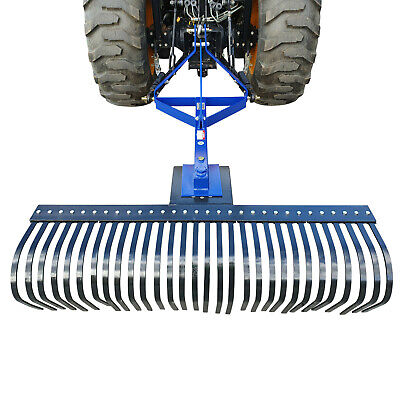 Dissy Machinery Landscape Stick Rake 6Ft 1800Mm Tractor 3 Point Linkage