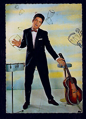 Original 50/60  POSTCARD from HOLLAND, CLIFF RICHARD with Guitar.RARE