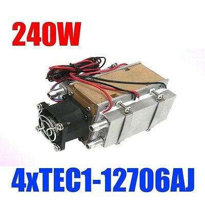 dc 12v 240W semiconductor refrigeration cooling water-cooled air conditioning
