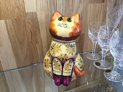 Rare Joan & David De Bethel Cat 1967 Cinque Ports with Quote Papier Mache
