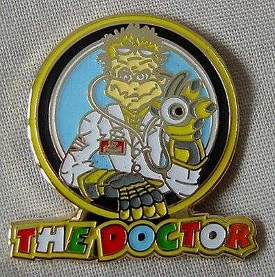 *NEW* 'The Doctor' enamel badge.Moto GP, Rossi.