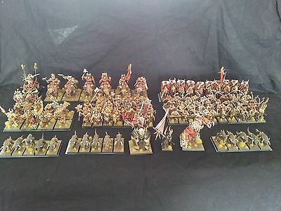 Fully painted Khorne army for warhammer