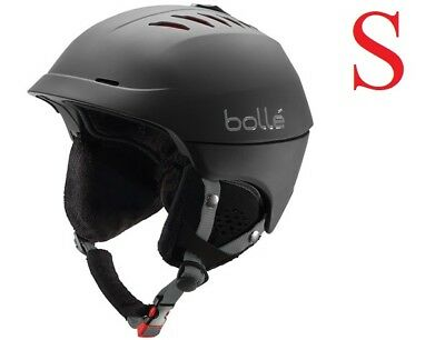 Bolle Vented Medium 55-57cm Headsize Sport Snowboard Ski Helmet |BONUS CARRY BAG