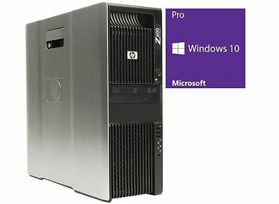 HP Z600 - Xeon X5650 @ 2,67 GHz - 6GB RAM - 320GB HDD - DVD-ROM - Win10Pro