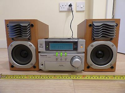 Panasonic SA-PM05 Micro HiFi Stereo System CD Player Tuner Radio & Bluetooth