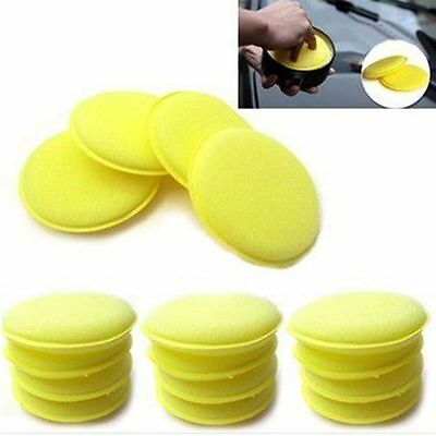 12Pcs/set Automobile Sponge Polishing Foam Car Waxing Pad Vehicle Clean