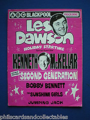 The Les Dawson Holiday Startime  Show  - ABC Blackpool  programme  1977