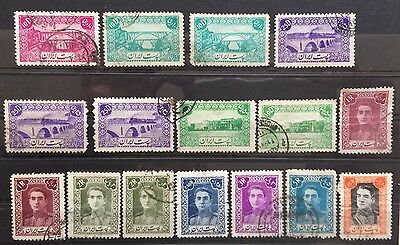 1942 Middle East Stamps SG851 ... Used (8)