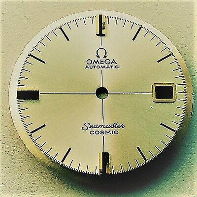 Omega Silver Dial Genuine Seamaster COSMIC caliber 565 Golden or Silver Index