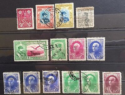 1926 - 36 Middle East Stamps Collection Used (9)