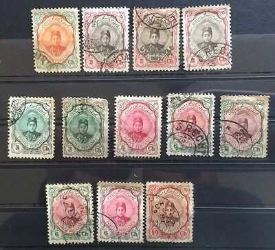 1911 Middle East Stamps SG361 .... Used (10)