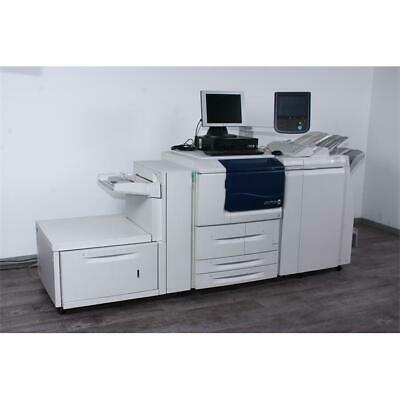 Xerox D110P Digitaldrucker inkl. FreeFlow Server, Broschürenfinsiher, Paperdeck