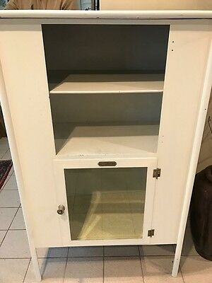 Vintage Aseptible Furniture Company Medical Cabinet - White