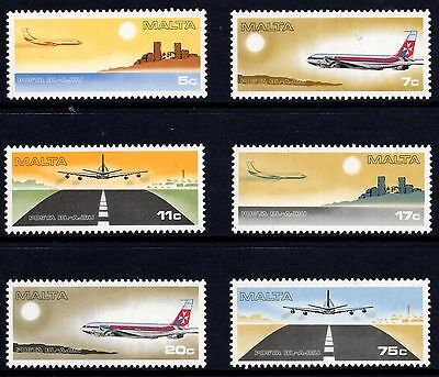 Malta 1978 Air Designs Complete Set SG 605 - 610 Unmounted Mint