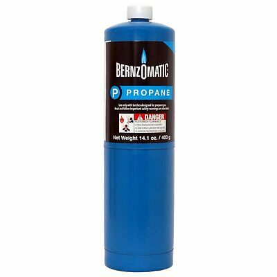 Lot of 3 Bernzomatic pre-filled disposable propane tank 14.1 ounce each new