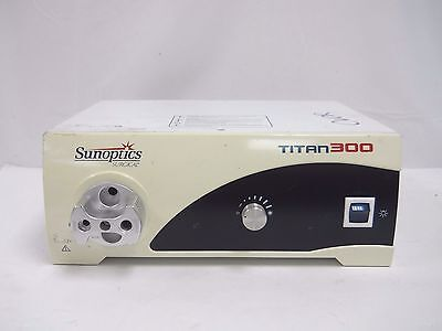 Sunoptics Surgical Titan300 S300T Light Source Console