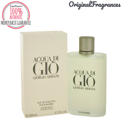 Aqua Acqua Di Gio Cologne 3.3 / 6.7 / 3.4 / 1.7 oz By GIORGIO ARMANI FOR MEN NEW