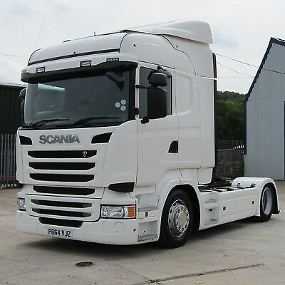 64 plate Scania R450 Lowride 4x2 tractor unit. Euro 6.