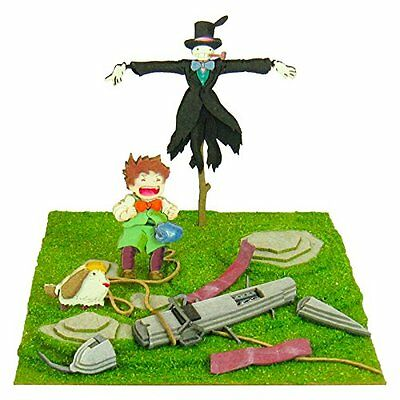 Studio Ghibli Howl'S Moving Castle Scarecrow Of Turnip And Marx And Hin Pape...
