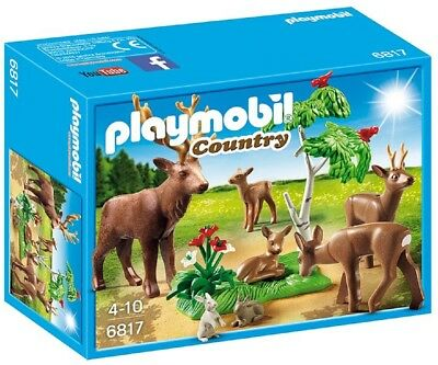 Playmobil® Country Hirsch mit Rehfamilie 6817