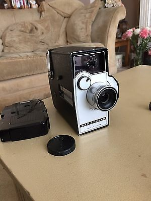 Vintage Bell And Howell Autoload 8mm Film Camera With Animation Switch