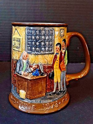 Royal Doulton ~ Christmas Carol Collectors Int'l John Beswick Ltd. 1973 Tankard