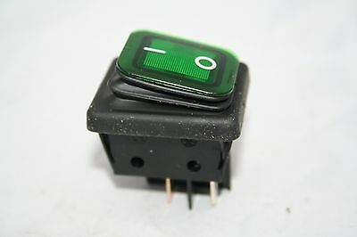 Enec Green On Off Switch T120/55 20A/125Vac 16A/250Vac Rocker Switch Ref 657A