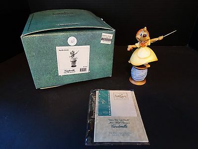 WDCC Cinderella ~ HEY WE CAN DO IT ~ Needle Mouse ~ MIB & COA
