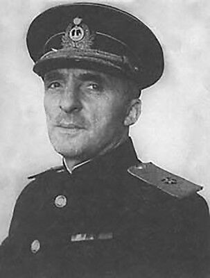 Admiral of the Fleet in the Soviet Navy Pantelejew 1954 RR Autograph Original
