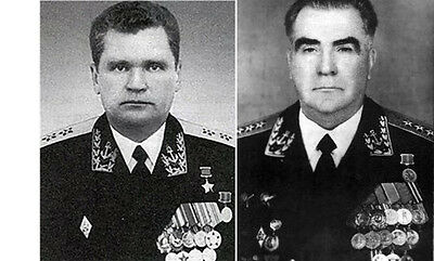 Admiral of the Fleet in the Soviet Navy Sidorov  and Pavlov  R Autograph
