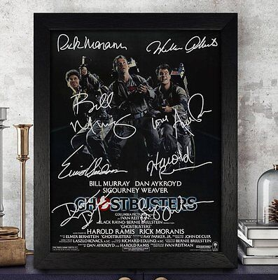 GHOSTBUSTERS Cast Autographed Signed Photo 8x10 Reprint PP