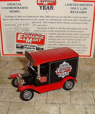 d993b13d57 LLEDO - PROMO - 1920 Model T Ford Van - Exchange   Mart 125Th Year ...
