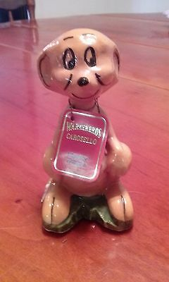 Vintage Carosello Warner Brothers Decanter Hand Painted In Italy Hippety Hopper