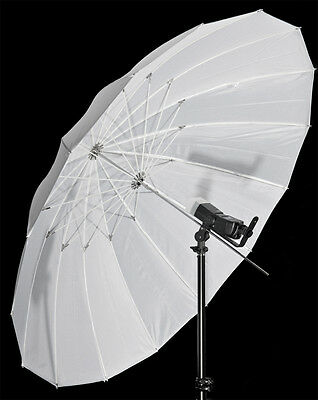 "Flash Umbrella White Parabolic Type 59/64"" 150/162cm (diameter/arc)"
