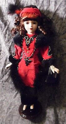 'Anna' Brass Key Collectibles Porcelain Doll from 'Orient Express' Collection