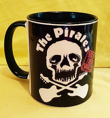 The Pirates 'out Of Their Skulls' (1977)-Album Cover On A. Mug