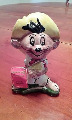 Vintage Carosello Warner Brothers Decanter Hand Painted In Italy Speedy Gonzales