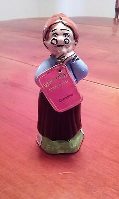 Vintage Carosello Warner Brothers Decanter Hand Painted In Italy Grandma