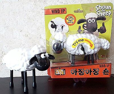 Shaun the sheep doll figure wind up walking doll