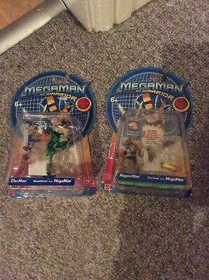 Megaman Nt Warrior Figures X2