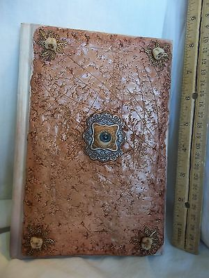 Hocus Pocus Inspired BlanK Journal Eye Altered Book Witches Spell Halloween OOAK
